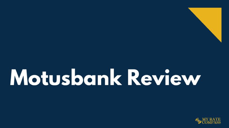 Motusbank Review