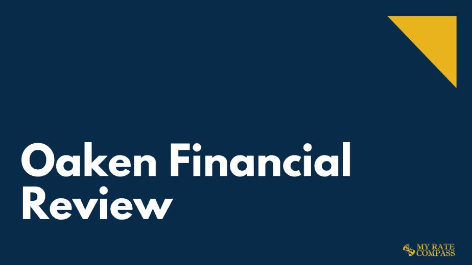 Oaken Financial review