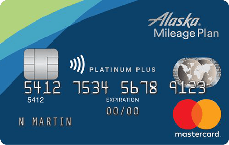 Alaska Airlines Platinum Plus Mastercard