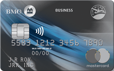 BMO AIR MILES Business Mastercard