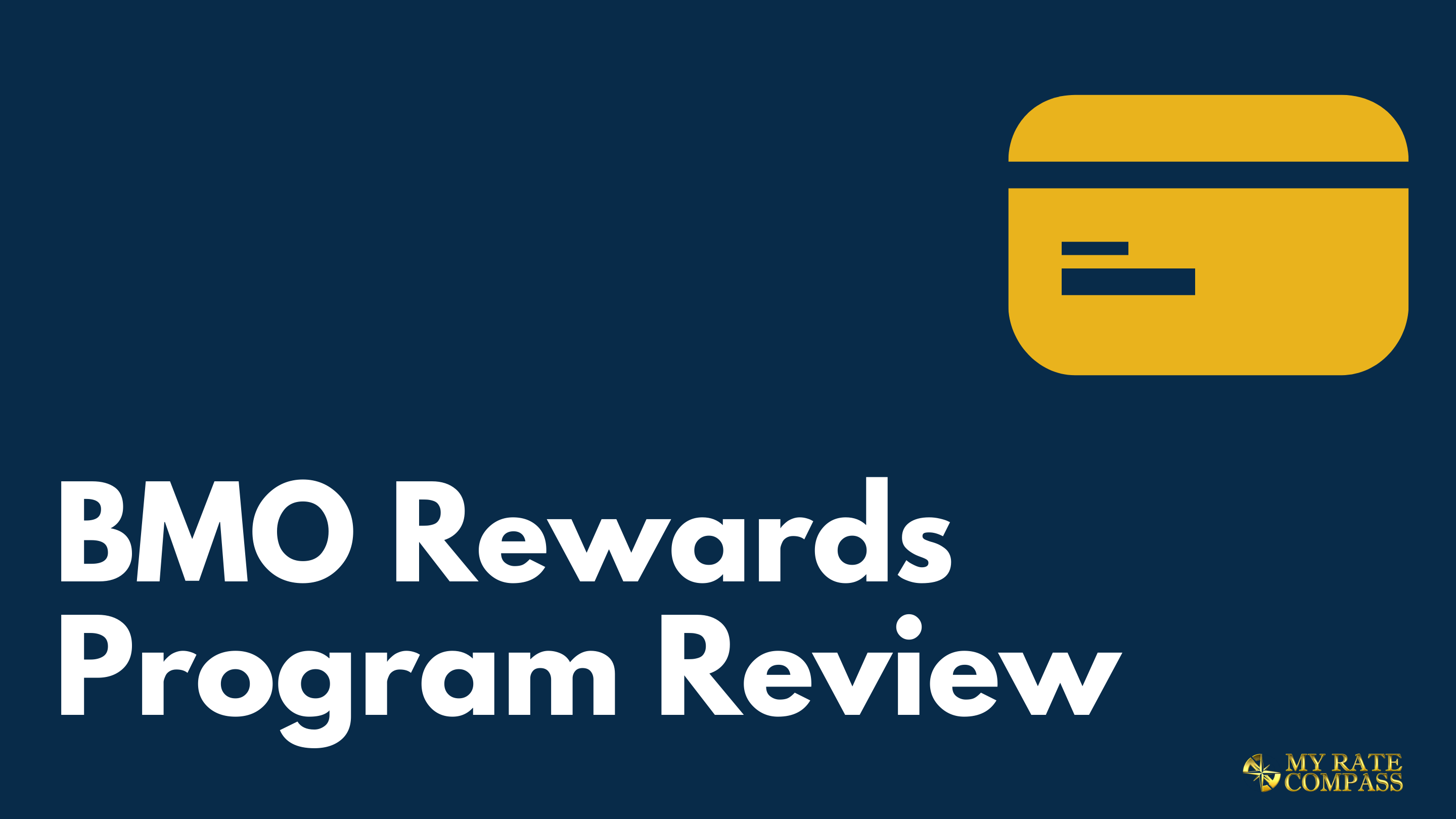 BMO Rewards Points Program