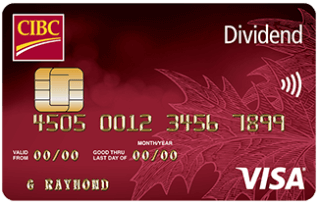 CIBC Dividend Visa Card for Students