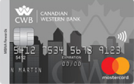 Canadian Western Bank MBNA Rewards Mastercard