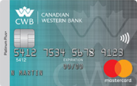 Canadian Western Bank Platinum Plus MBNA Rewards Mastercard