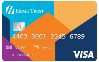 No Fee Home Trust Secured Visa Card