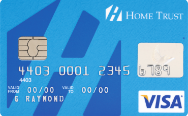 No Fee Home Trust Secured Visa Card