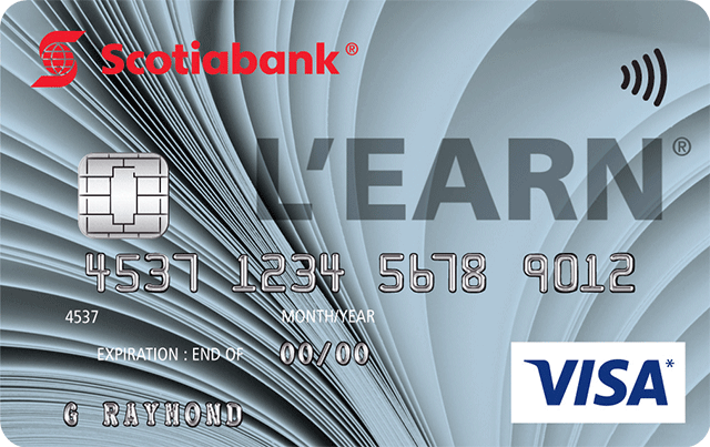 L'earn™  Visa* Card
