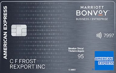Marriott BonvoyTM Business American Express® Card