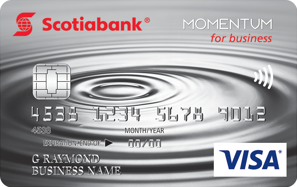 Scotia Momentum for Business VISA