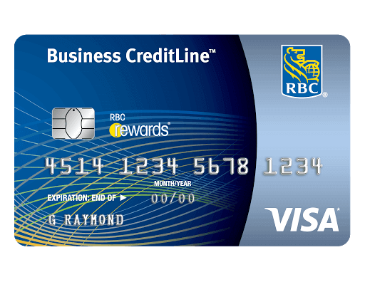 RBC  Visa CreditLine for Small Business