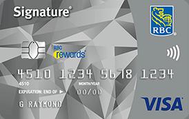 Signature RBC Rewards Visa