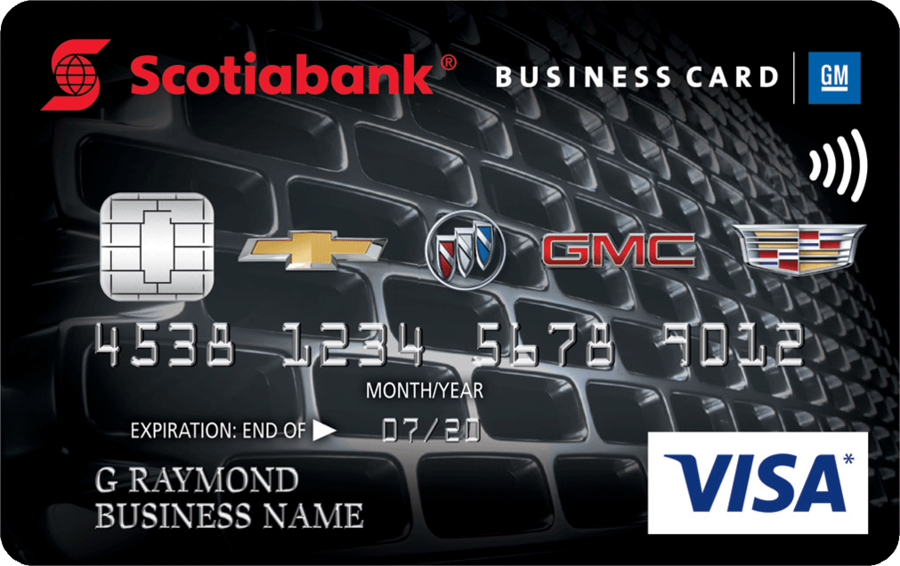 Scotiabank® GM®* Visa* Business Card