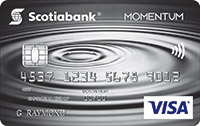 Scotia Momentum®  Visa* Card
