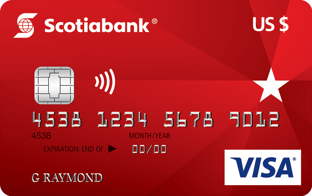 Scotiabank ® U.S. Dollar  VISA* Card