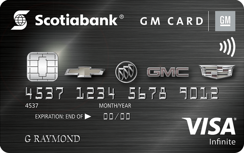 Scotiabank® GM®*  Visa Infinite