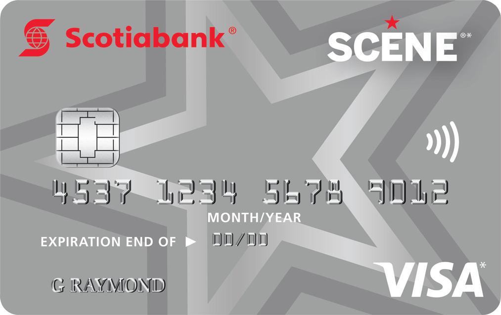SCENE®*  Visa* Card