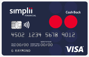 Simplii Financial™ Cash Back Visa* Card