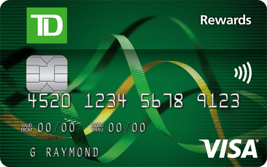 TD Rewards Visa Card
