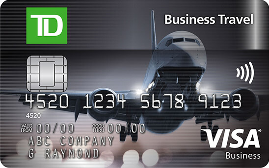 TD Business Travel Visa Card