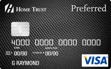 Home Trust Preferred Visa Card