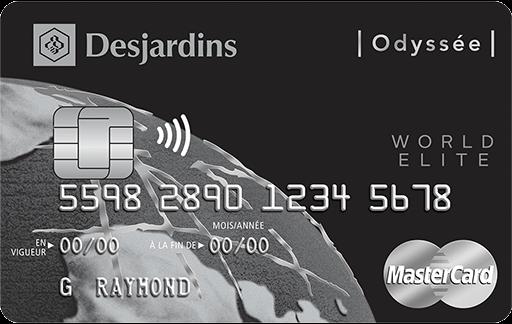 Odyssey  World Elite  MasterCard
