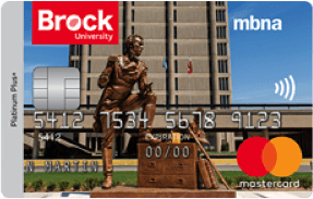 Brock University Credit Card