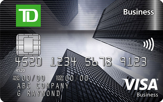 TD Business Visa Card