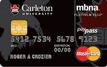 Carleton University Credit Card