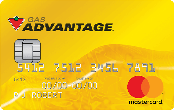 GAS ADVANTAGE MASTERCARD