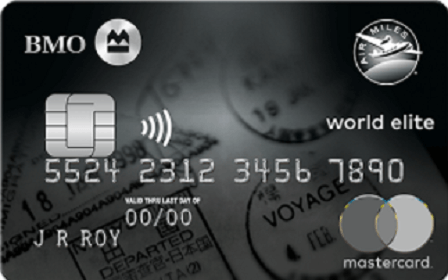 BMO® AIR MILES® World Elite®* Mastercard®*