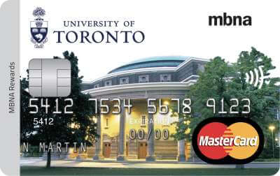 University of Toronto Credit Card