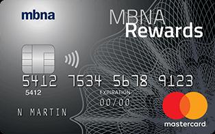 MBNA Rewards Platinum Plus® Mastercard