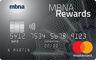 MBNA Rewards Mastercard Plus