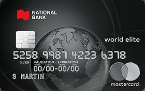 National Bank World Elite Mastercard®