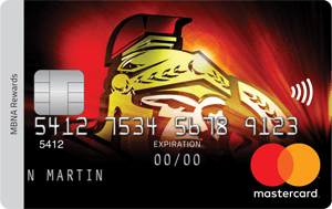 Ottawa Senators  MBNA Rewards Mastercard