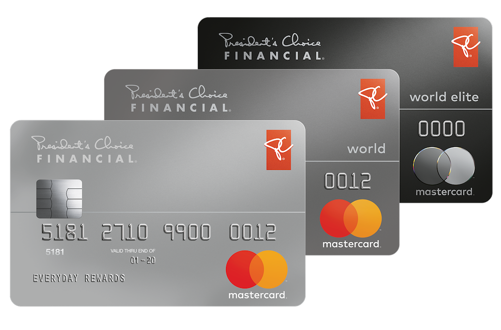 Does PC financial MasterCard have car rental insurance?