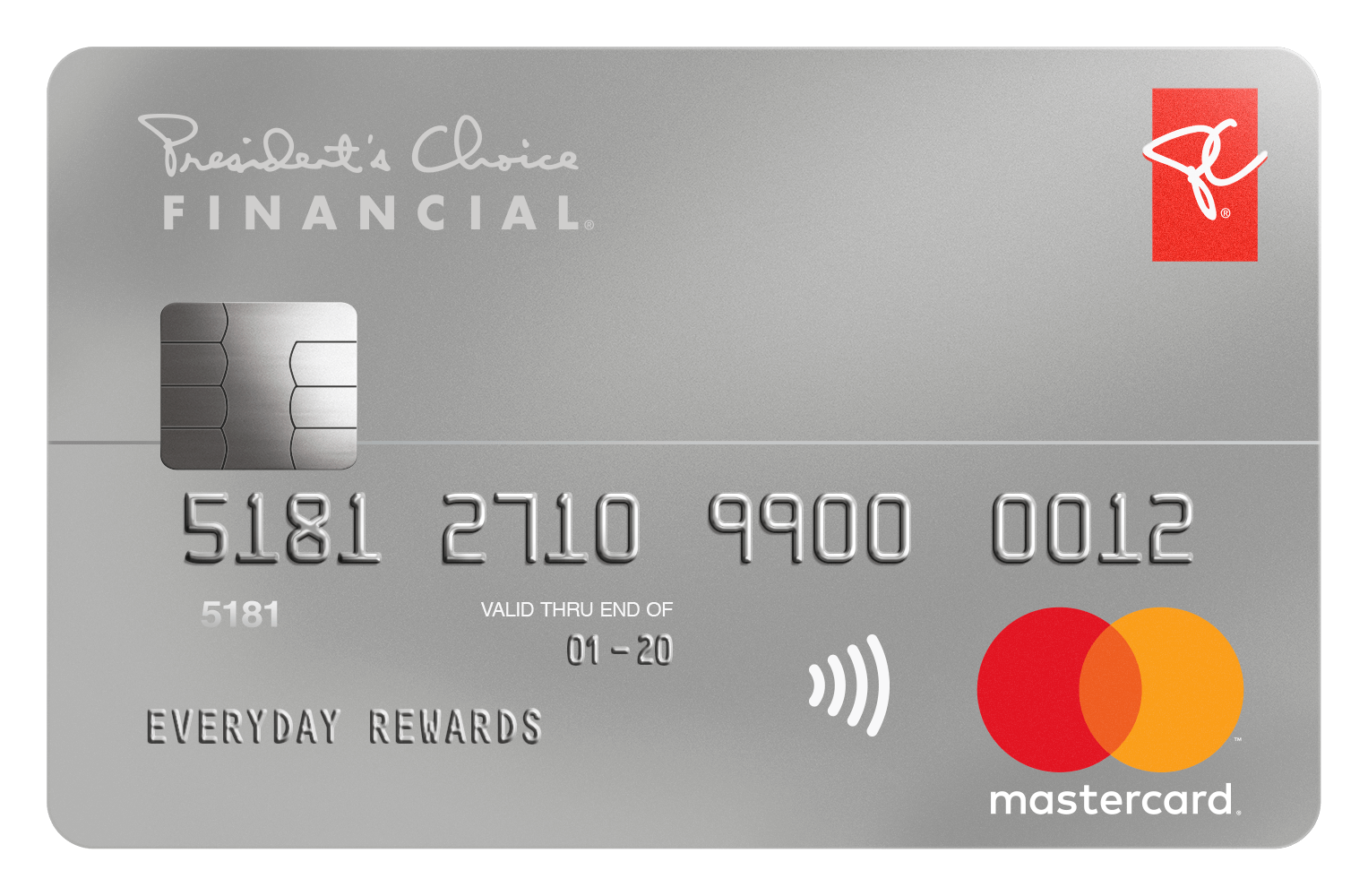 President's Choice Financial  Mastercard