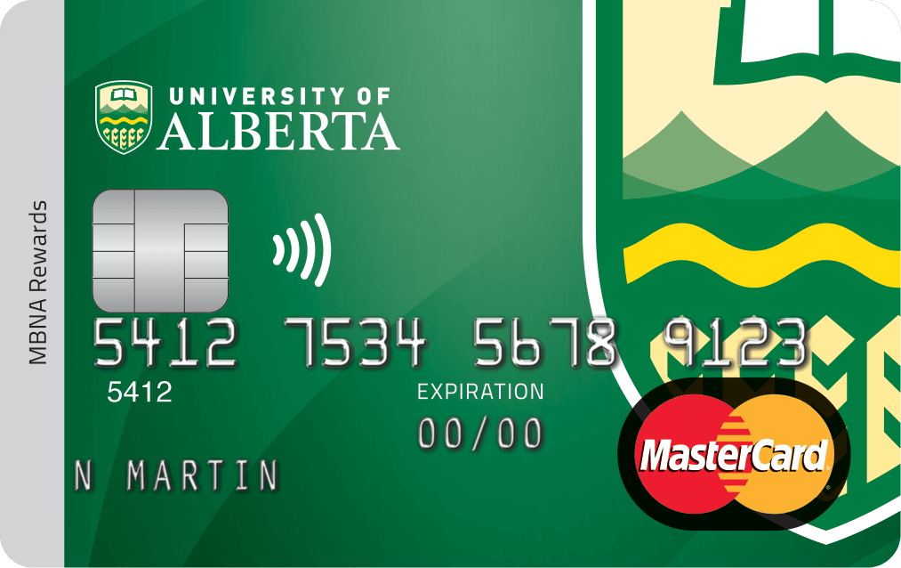 University of Alberta Credit Card