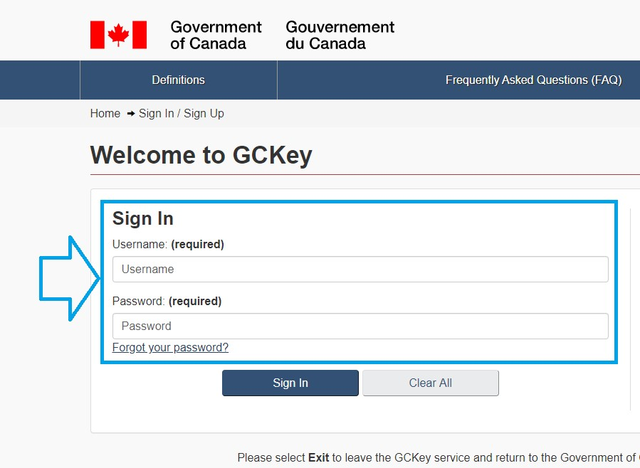 How To Access Your My Service Canada Account